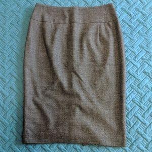 Grey Pencil Skirt size 2